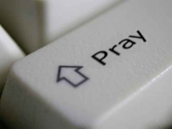 Press the Pray Key on your Keyboard